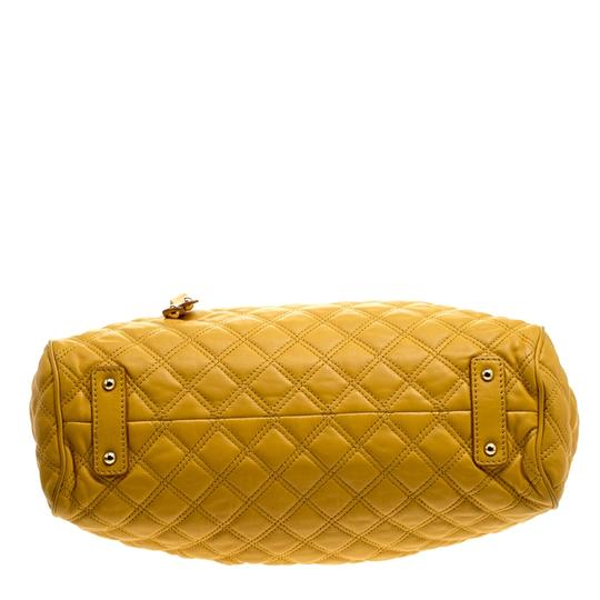 Marc Jacobs Leather Satchel in Yellow Image 4