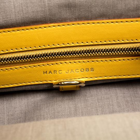 Marc Jacobs Leather Satchel in Yellow Image 5