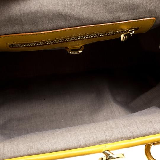 Marc Jacobs Leather Satchel in Yellow Image 6