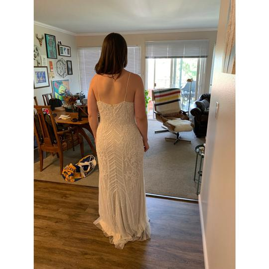 BHLDN White Shaylin - Casual Wedding Dress Size 12 (L) Image 2