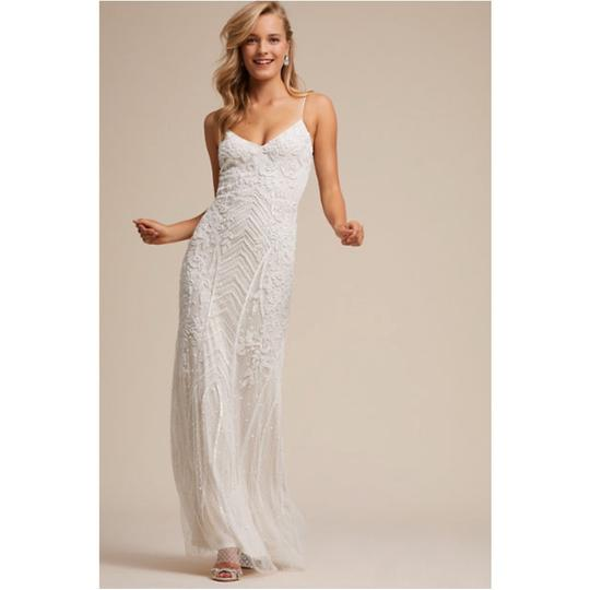 BHLDN White Shaylin - Casual Wedding Dress Size 12 (L) Image 5