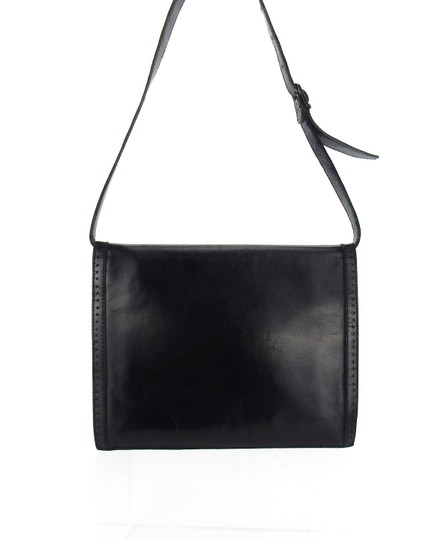 Saint Laurent Ysl Leather Vintage Chevron Shoulder Bag Image 3