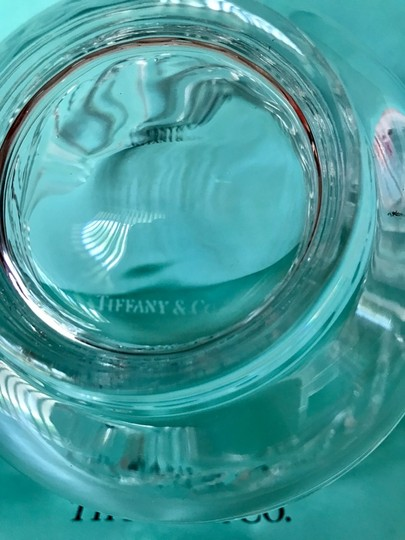 Tiffany & Co. Clear Lead Crystal Dolphin Design Bowl Decoration Image 4