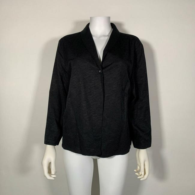 Eileen Fisher Black Blazer Image 2