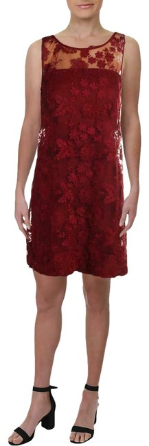 Preload https://img-static.tradesy.com/item/25592011/signature-by-robbie-bee-dark-red-womens-mesh-floral-party-petites-psm-mid-length-cocktail-dress-size-0-1-650-650.jpg