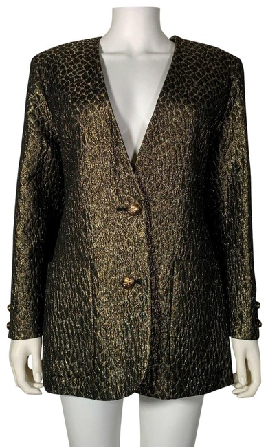 Preload https://img-static.tradesy.com/item/25592014/valentino-gold-boutique-animal-print-women-m-6-blazer-size-8-m-0-1-650-650.jpg