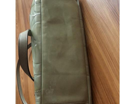Coach Tote in Light Olive Green Image 11