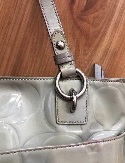 Coach Tote in Light Olive Green Image 4