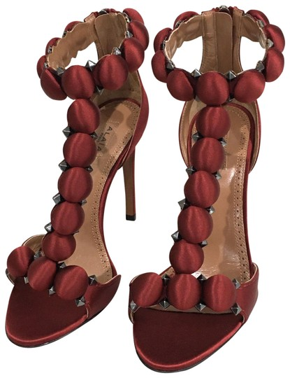 Preload https://img-static.tradesy.com/item/25592092/alaia-rouge-satin-sandal-pumps-formal-shoes-size-eu-365-approx-us-65-regular-m-b-0-4-540-540.jpg