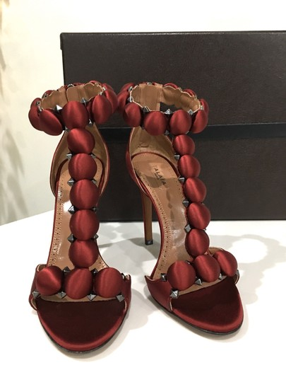 ALAA Celebrity Fashion Pumps Style rouge Formal Image 2