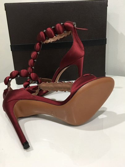 ALAA Celebrity Fashion Pumps Style rouge Formal Image 5