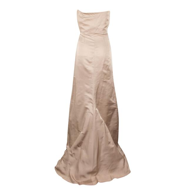 Valentino Silk Strapless Evening Gown Ball Gown Dress Image 1