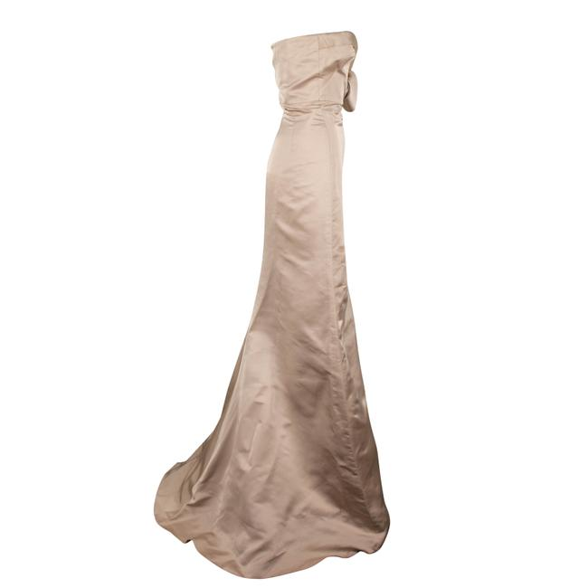 Valentino Silk Strapless Evening Gown Ball Gown Dress Image 2
