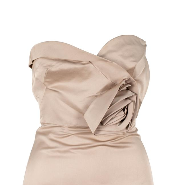 Valentino Silk Strapless Evening Gown Ball Gown Dress Image 3