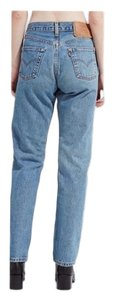 Vintage Levi's 565 Loose Fit Wide Leg Distressed Jeans Relaxed Fit Jeans-Light Wash