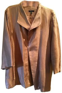 Eileen Fisher A rose gold shade of mauve. Pairs great with black, grey, cream or pale pink Blazer
