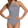 SeaFolly SeafollyModern Geometry High Neck One Piece Image 0