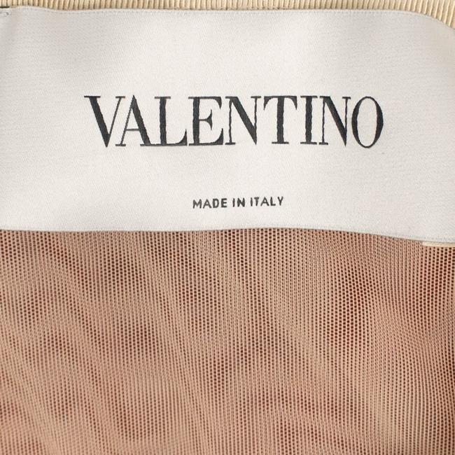 Valentino Velvet Strapless Quilted Satin Viscose Dress Image 5