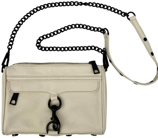 Rebecca Minkoff Cross Body Clutch Removable Strap Faux Shoulder Bag Image 0