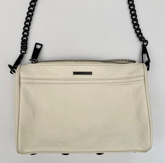 Rebecca Minkoff Cross Body Clutch Removable Strap Faux Shoulder Bag Image 1