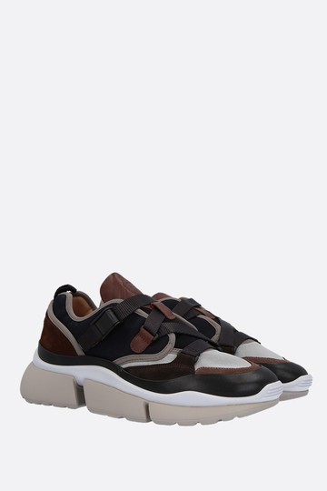 Chloé Sneakers Flats Sonnie Multicolor Athletic Image 1