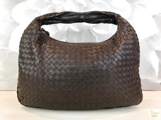Bottega Veneta Intrecciato Leather Hobo Bag Image 2