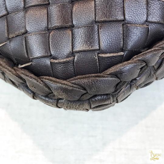 Bottega Veneta Intrecciato Leather Hobo Bag Image 7