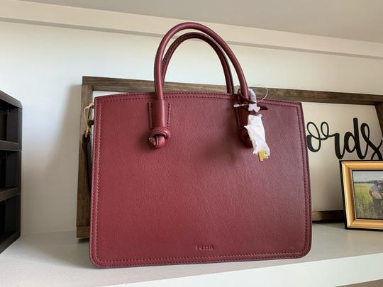 Fossil Satchel in Wine Image 1