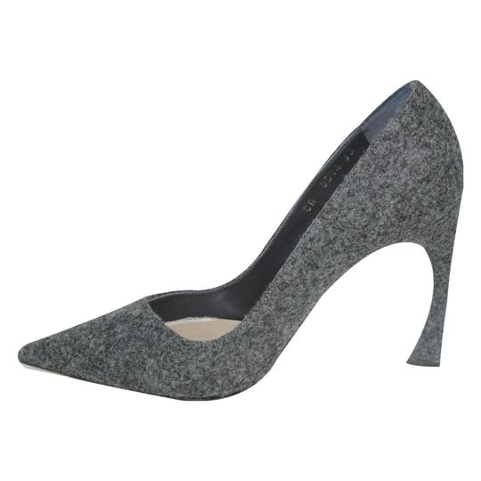 Dior Pointed Toe Gray Pumps Image 1