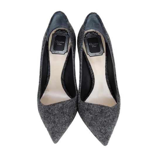 Dior Pointed Toe Gray Pumps Image 2
