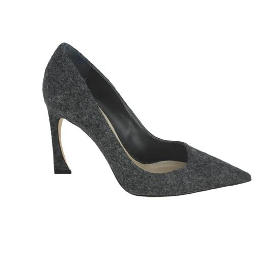 Dior Pointed Toe Gray Pumps Image 3