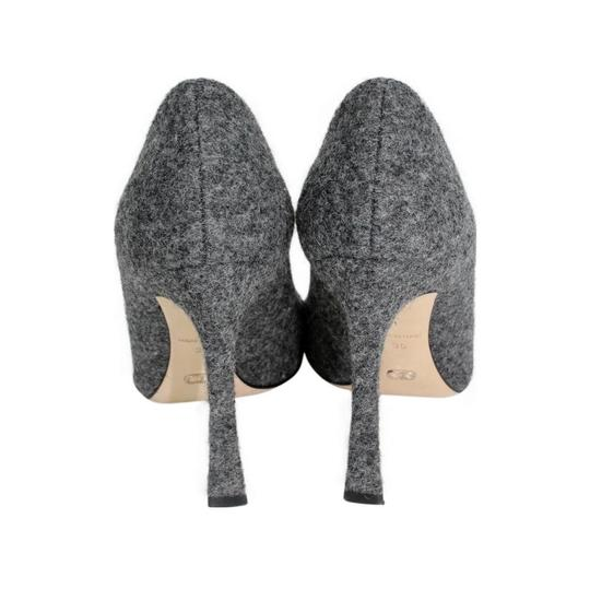 Dior Pointed Toe Gray Pumps Image 4