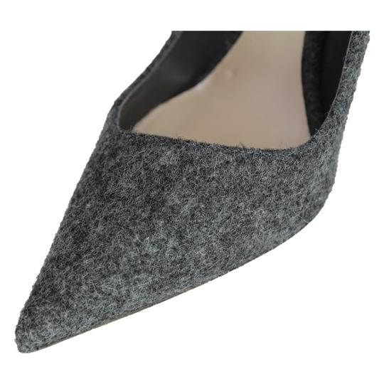 Dior Pointed Toe Gray Pumps Image 7