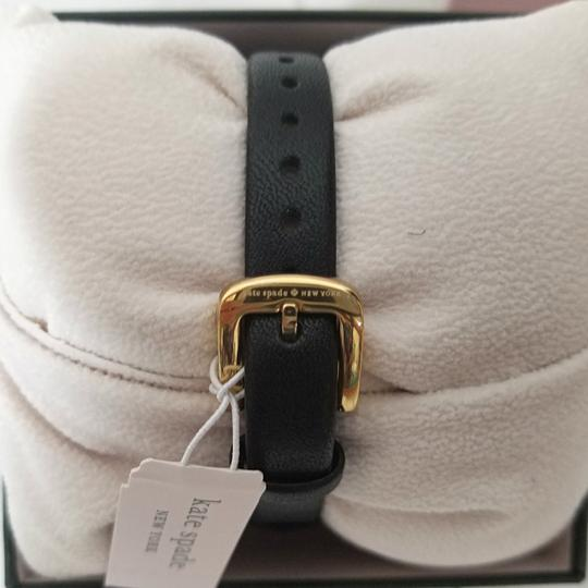 Kate Spade NEW holland three-hand black leather watch KSW1462 Image 10
