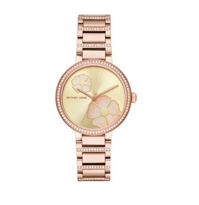 Michael Kors NWT Women's Courtney Rose Gold-Tone Watch MK3836