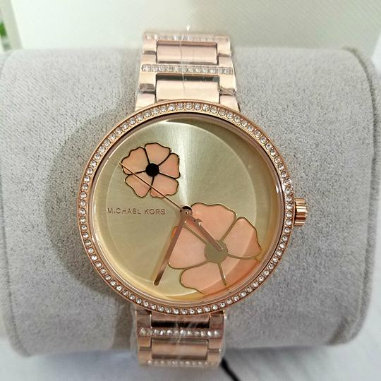 Michael Kors NWT Women's Courtney Rose Gold-Tone Watch MK3836 Image 1