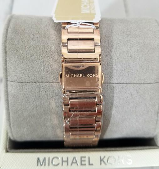 Michael Kors NWT Women's Courtney Rose Gold-Tone Watch MK3836 Image 11