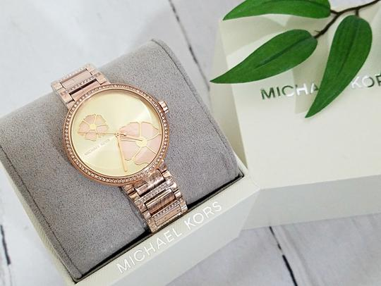 Michael Kors NWT Women's Courtney Rose Gold-Tone Watch MK3836 Image 5