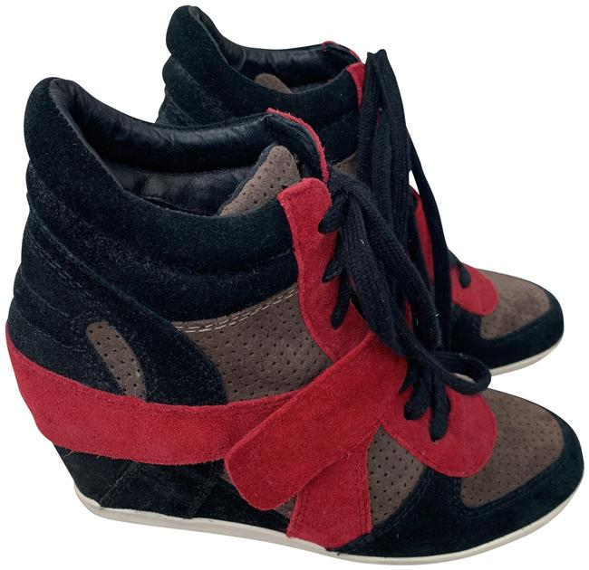 Item - Black/Brown/Red Limited Edition Sneakers Size EU 38 (Approx. US 8) Regular (M, B)
