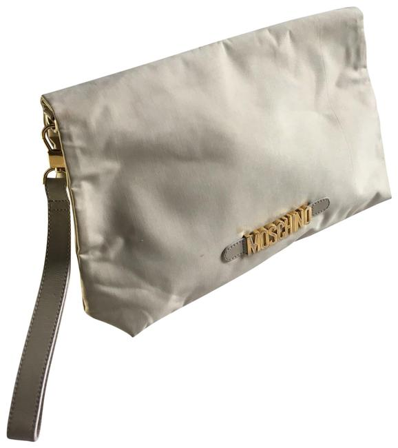 Item - Double Sided Beige Coated Canvas Clutch