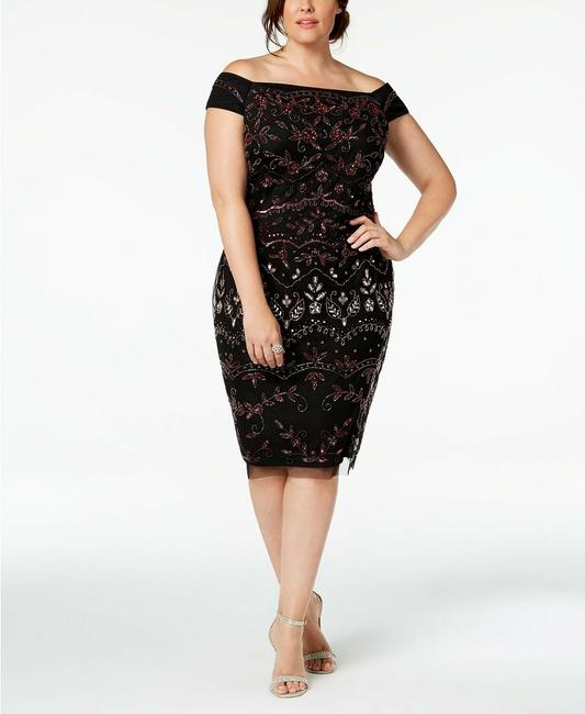 Adrianna Papell Plus Occasion Dress Image 2