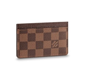 Louis Vuitton Damien Ebene card Holder