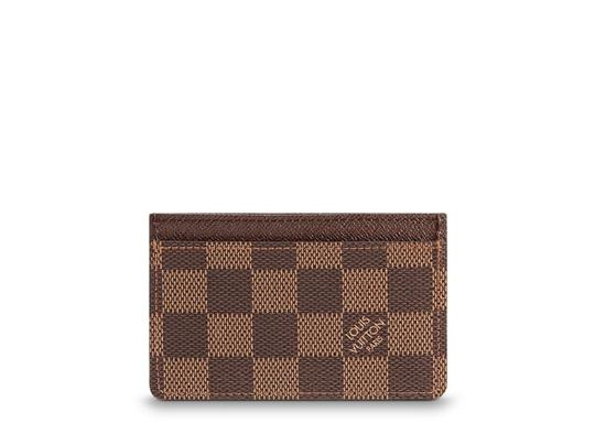 Louis Vuitton Damien Ebene card Holder Image 2
