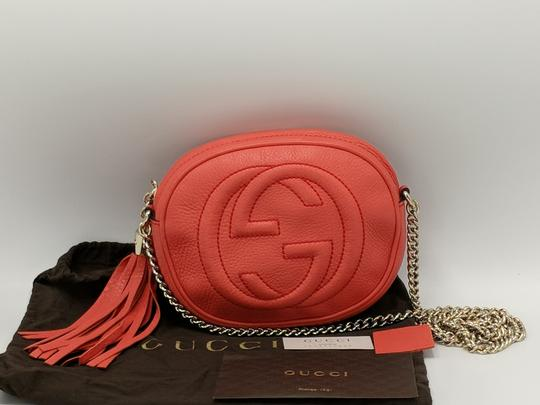 Gucci Double G Chain Leather Soho Cross Body Bag Image 2
