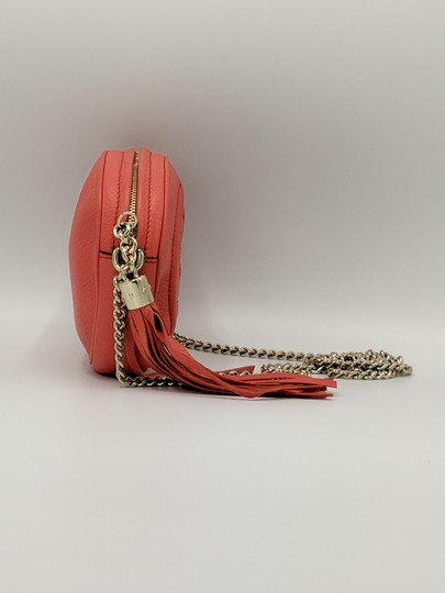 Gucci Double G Chain Leather Soho Cross Body Bag Image 3