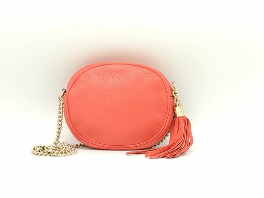 Gucci Double G Chain Leather Soho Cross Body Bag Image 4