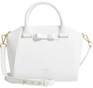 Ted Baker Pebbled Leather Crossbody Shoulder Bag