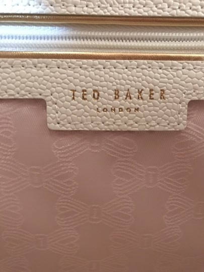 Ted Baker Pebbled Leather Crossbody Shoulder Bag Image 6