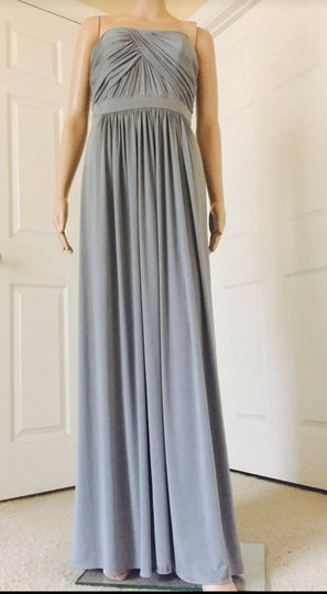 Dessy Monument Maracaine Jersey Formal Bridesmaid/Mob Dress Size 10 (M) Image 2