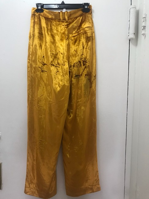 & Other Stories Wide Leg Pants Mustard Image 1